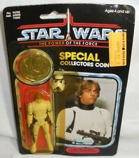 Star Wars Potf Luke Skywalker action figure new on the card
