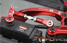 FID Racing Adjustable servo turnbuckle for LOSI Desert buggy XL DBXL red 1pc