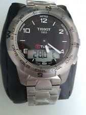 TISSOT T-TOUCH II 2 TITANIUM wrist smart watch NEW/BOX/WARR.  T047.420.44.057.00