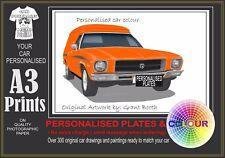 71-74 HQ HOLDEN VAN A3 ORIGINAL PERSONALISED PRINT POSTER CLASSIC RETRO CAR