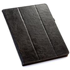 """Echt Leder Schutzhülle für Apple iPad Pro 10,5"""" Tablet Tasche Cover Case schwarz"""