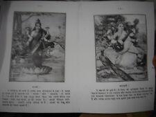 INDIA - RAJA  RAVI VARMA BOOK CONTAIN 87 PRINTS IN B/W - SHEETS 23 - PHOTOCOPY
