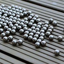100Pc 6mm Steel Ball Gift Bearing Slingshot Ammo Catapult Toy Bike Steel Balls