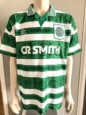Celtic Home Jersey 1995 - 1997 Size XL Home Shirt Umbro as Ne3w