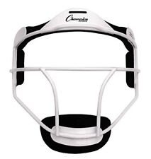 Champion Sports Softball ADULT Pitcher / Fielder Mask, Wide Vision, White