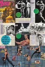 Muscle & Fitness Frankreich Arnold Schwarzenegger,Tonya Knight,Cory Everson