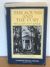 The Sound and the Fury - William Faulkner - Norton Critical Edition - Englisch