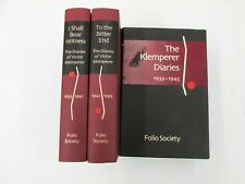 Diaries of Victor Klemperer (2 vols) - I Shall Bear Witness & To the Bitter End