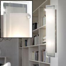 Design Wand Lampe Chrom Beleuchtung Wohn Zimmer Leuchte Glas satiniert Spiegel