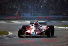 Niki Lauda Ferrari 312 T2 Italiana Grand Prix 1977 fotografía 4