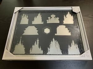 Disney Castle Collection Pin Display Case - Shadow Box Frame
