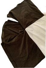 Ralph Lauren Full Bed Skirt Corduroy Dark Olive Green