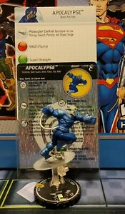 HEROCLIX Mutations And Monsters  APOCALYPSE 059 W/LEGACY CARD L059