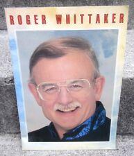 ROGER WHITTAKER live folk whistling program 1993 baritone concert souvenir