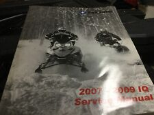 9921985 2007-2009 IQ Service Manual Polaris 600 700 800 900