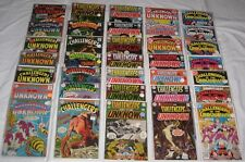 Silver & Bronze Age LOT/35 comics: CHALLENGERS OF THE UNKNOWN #s between 40-87