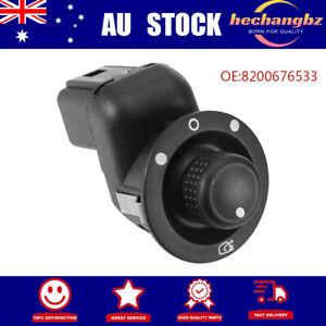 Electric Mirror Control Switch Adjust Knob 8200109014 For Renault Scenic AU NEW