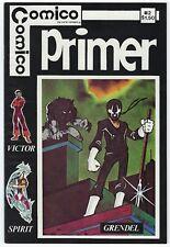 Comico Primer #2 1982 First Appearance of Grendel Super Nice