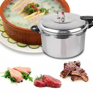 5 L Stainless alloy Stovetop Pressure Cooker Casserole Stockpot Induction Base