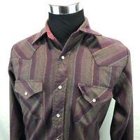 Corral West Ranch Wear Men's Western Pearl Snap Shirt Size 15.5 Medium M K1