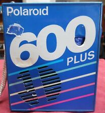 Vintage Polaroid 600 Plus Film Pack Novelty AM/FM Transistor Radio Works