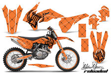 AMR Racing KTM C9 SXF XCF EXC Graphic Number Plate Kit Bike Decal MX 13-15 SSR K