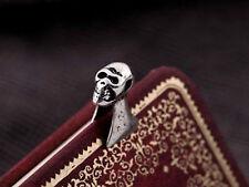 Skull Ear Bone Ear Cuff Clip Earring Goth Punk Fashion Jewellery silver top gift