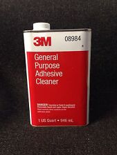 3M 8984 General Purpose Adhesive Cleaner - 3M-08984  (Quart)