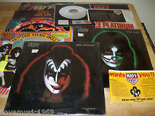 "KISS 10 NEAR MINT 12"" LPs Destroyer/Love Gun/Rock and Roll Over/Hotter Than Hell"
