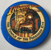 Disneyland Indiana Jones Adventure Forbidden Eye Disney Button
