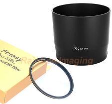 JJC Lens Hood, 67mm MRC Nano Filter Canon EF 70-300mm f4-5.6 IS II USM as ET-74B