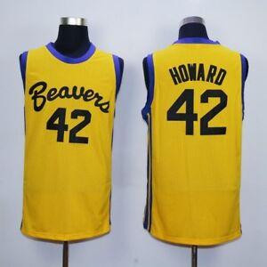 Teen Wolf #42 Scott Howard Beavers Basketball Jerseys Michael J Fox Werewolf