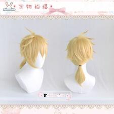 Vocaloid Anime Men Kagamine Rin/len Hair Hairpiece Cosplay Wig Harajuku Gift