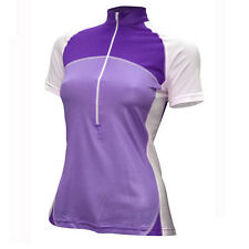 "Womens Ventou ""Zone"" Lavender & White Cycling Jersey Size S New W/Tags RRP $80"