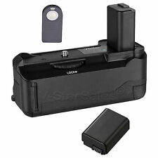 Vivitar Battery Grip for Sony A6000 + NP-FW50 Replacement Battery