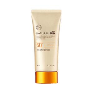 [THE FACE SHOP] Power Long Lasting Sun Cream (Jumbo Size) - 80ml (SPF50+ PA+++)