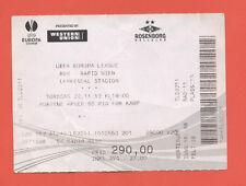 Orig.Ticket    Europa League 12/13    ROSENBORG BK - SK RAPID WIEN  !!  SELTEN