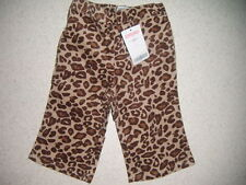 Gymboree leopard pants size 6-12 months new with tags teachers pet