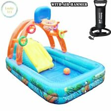 Bestway Splash Inflatable Inflate Pool With Air Hammer