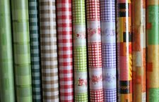 SALE!Check,Gingham Design by WJDhome Wipe Clean TableclotPVC.Choose your style.