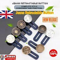 【3/10PCS】Jeans Retractable Button 100% ORIGINAL UK TOP 70% OFF