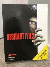 Resident Evil 2 for PC by Capcom in Big Box, 1999,Shooter, Horror, CIB,Very Rare