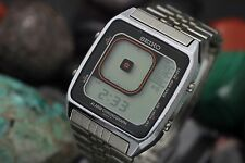 Vintage SEIKO James Bond Octopussy G757 Digital Alarm Chronograph Men's Watch