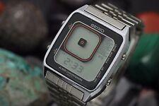 Vintage SEIKO James Bond Octopussy G757 Digital Alarm Chronograph Men's Watch
