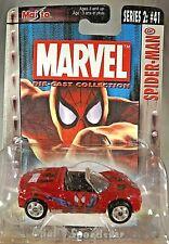 2004 Maisto Marvel Die-Cast Collection Series 2 #41 SPIDER-MAN Opel Speedster