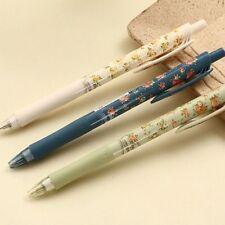 New School Cute Cartoon Ball Pen Vintage Flower Ballpoint Pens Stationery Gifts