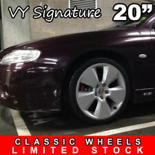 1x SIGNATURE 20inch Silver Alloy Wheel HOLDEN COMMODORE VL VK VT VY VZ SS