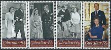 n060) Gibraltar. 2007. MNH. SG 1196 to 1199. Diamond Wedding Anniversary
