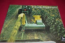 John Deere Forage Harvesting Equipment For 1973 Dealers Brochure BWPA