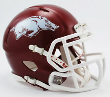 Arkansas Razorbacks 2017 Tribute Riddell Speed Mini Football Helmet New in Riddell Box